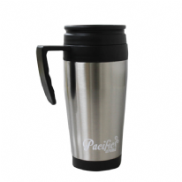 Kingfisher Travel Mug 400ml - Stainless Steel